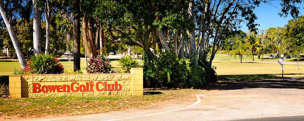 Bowen Golf Club Whitsundays Entrance