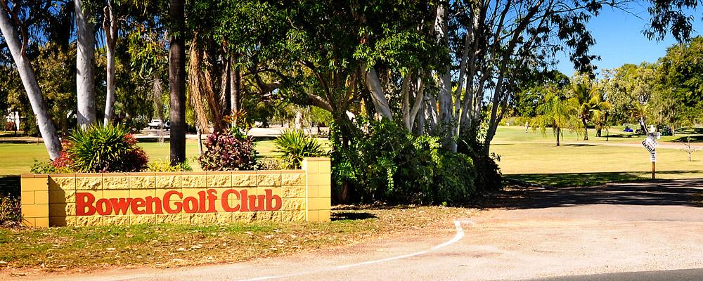 Bowen Golf Club Whitsundays Entrance